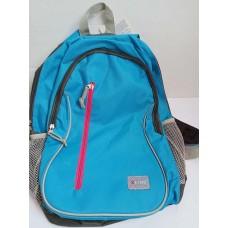 Рюкзак мягкий подростковый голубой