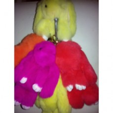 Заяц брелок с ресничками